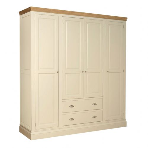 Tatton Bedroom Quad wardrobe